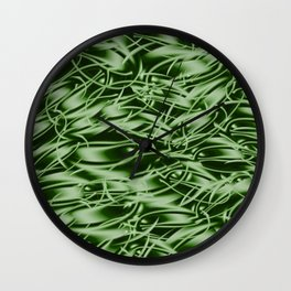 Palm Leaf Dell Wall Clock