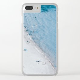 Beach Life 3 Clear iPhone Case