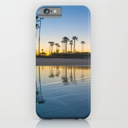 Wet Sand Sunrise iPhone Case