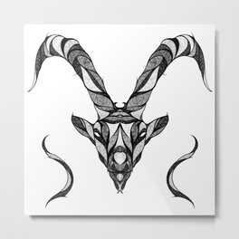 Signs of the Zodiac - Capricornus Metal Print
