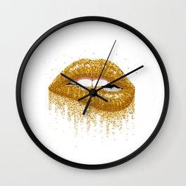 Sexy lips Wall Clock