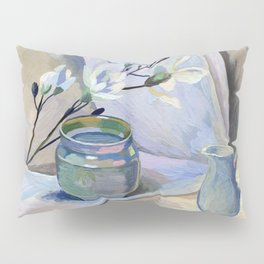 Flowers and vase Pillow Sham
