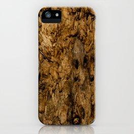 Rotten Wood iPhone Case
