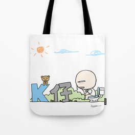 K Young-WC Tote Bag