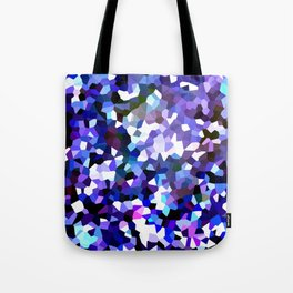 Ultraviolet Mountains Moon Love Tote Bag