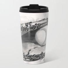 Baseball Metal Travel Mug