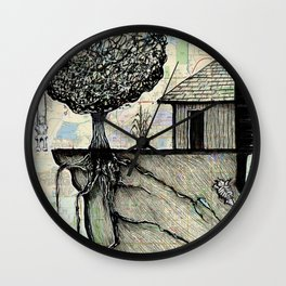 Lincoln, Nebraska Wall Clock