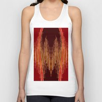 ikat Tank Tops featuring INDY IKAT by Sherylcolour