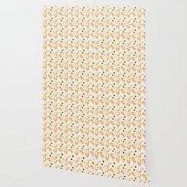 Spring Shiba Wallpaper