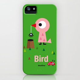 Mr. Bird iPhone Case