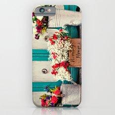 Vintage + Flowers  Slim Case iPhone 6s