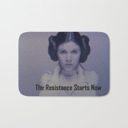 The Resistance starts now Bath Mat