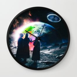 vert eternal atake Wall Clock