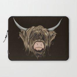 Highland Cow Laptop Sleeve