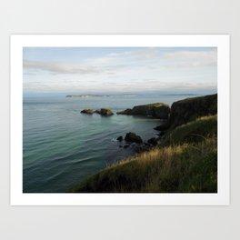 Antrim Coast - Northern Ireland Travel Photography Art Print