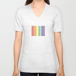 CHECK ME OUT (white text) Unisex V-Neck