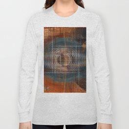 Unoccupied Digital Landscape Long Sleeve T-shirt