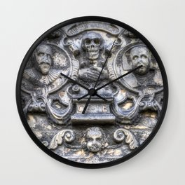 Guards Of The Tomb Wall Clock