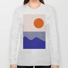 abstract minimal 50 Long Sleeve T-shirt