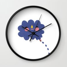 that's where the rain comes from Wall Clock