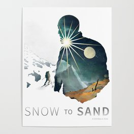 """Snow To Sand"" Official One-Sheet Poster Poster"