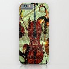 Mint Strings Slim Case iPhone 6s