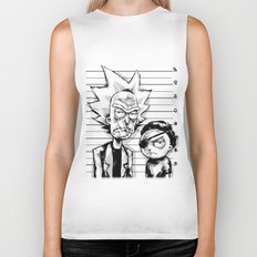 Rick and Morty Biker Tank