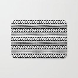 Moroccan Stripes Bath Mat