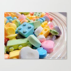 Like a kid in the candy store Canvas Print