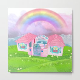 g1 my little pony dream valley Metal Print
