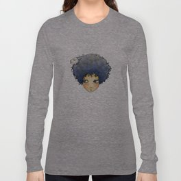 the girl with lamb hair Long Sleeve T-shirt