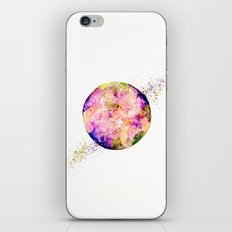 Flower planet iPhone & iPod Skin
