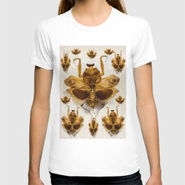 Insect pattern T-shirt