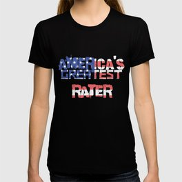 America's Greatest Rater T-shirt