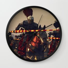 Medieval Chivalry Wall Clock