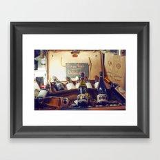 Vin au Frais: Chilled Wine Framed Art Print