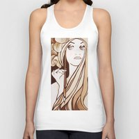mucha Tank Tops featuring My Mucha by Little Bunny Sunshine