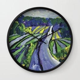 Pinot Noir Label Art for BIN 616 Wall Clock