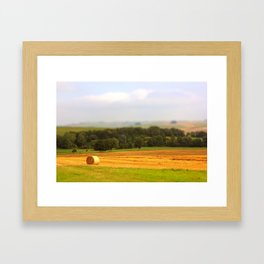 Miniature Countryside Framed Art Print