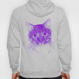 Jazz, drawing, purple Hoody