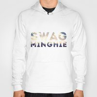 swag Hoodies featuring Swag by matteolasi