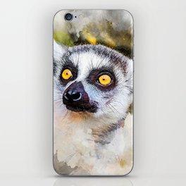 Lemur #lemur #animals iPhone Skin