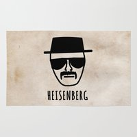 heisenberg Area & Throw Rugs featuring Heisenberg! by Hannah Ison