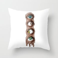 I have my eyes on you Throw Pillow