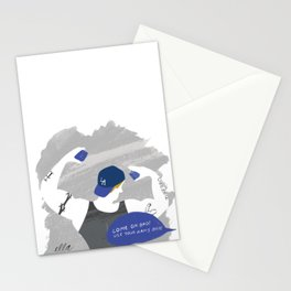 Come On Bro! Use Your Arms Bro! Stationery Cards