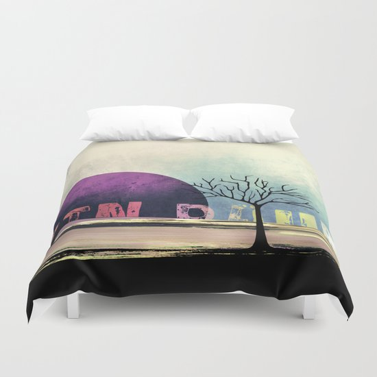 Ein Baum no5 [One Tree no5] Duvet Cover