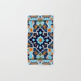 Mediterranean tile Hand & Bath Towel