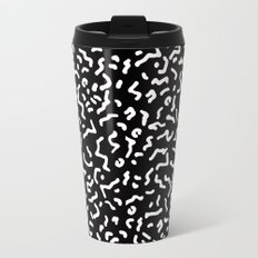 Retro Themed Repeated Pattern Design Travel Mug