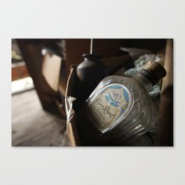 Whisky Bottle Canvas Print