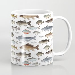 A Few Freshwater Fish Kaffeebecher